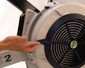 Setting the Indoor Rower Damper